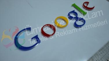 google pleksi harf tabela