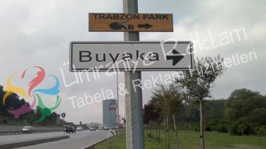 Trafik Yön Tabela Ümraniye