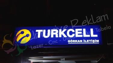 Turkcell Işıklı Tabela Üsküdar
