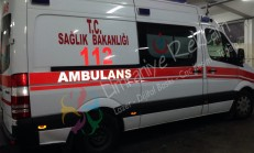 ambulans sticker uygulama