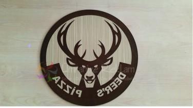 lazer ahşap logo hazırlama