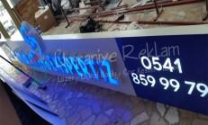 ışıklı harf tabela erenköy