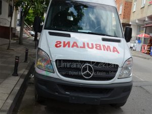 ambulans yazıları
