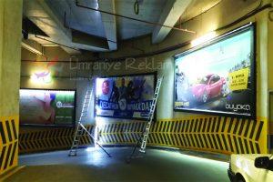 ışıklı reklam görsel bilboard