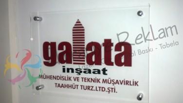 Ofis Kapı Tabelası Beşiktaş