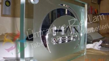 Ayna Harf Ofis İsimliği Levent