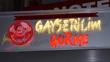 Işıklı Pleksi harf Tabela Beşiktaş