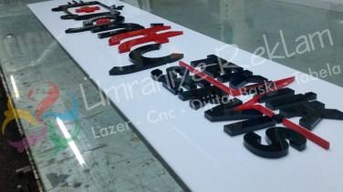 Pleksi harf tabela