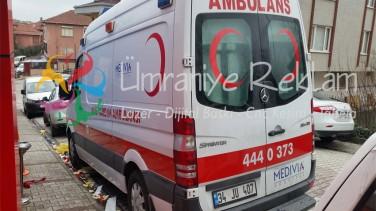 Ambulans Logo Stiker