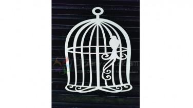 ahşap kuş kafesi