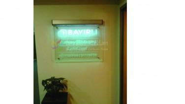 ışıklı ofis tabela