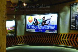 ışıklı bilboard reklam çalışması